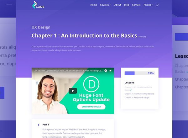 LMS Learning Services - Divi WordPress Website Design