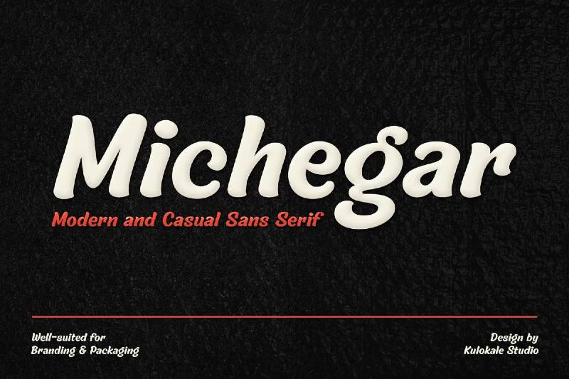 Michegar - Modern and Casual Sans