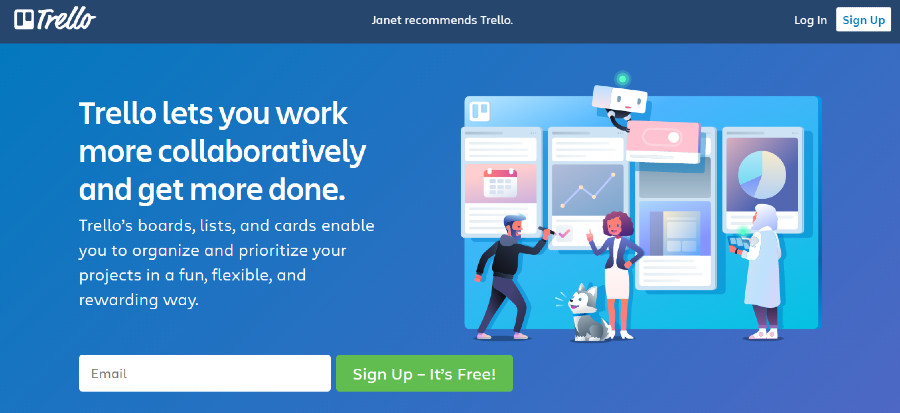 Free Trello Account to Increase Productivity
